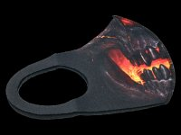 Gesichtsmaske - Skull Lava