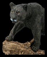Schwarzer Panther Figur - Ausschau