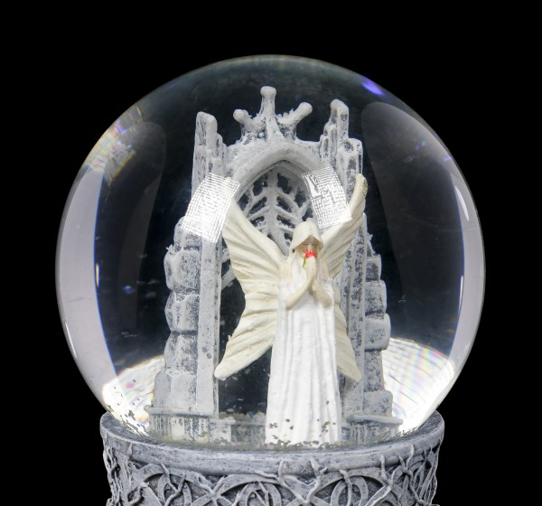 Schneekugel Engel - Only Love Remains