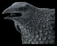Große schwarze Raben Figur - Ravens Cry