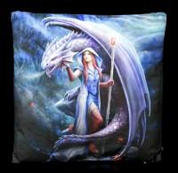 Kissen mit Drache - Dragon Mage