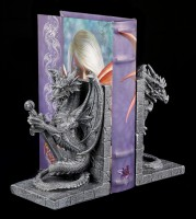 Dragon Bookends Set - Guardian of the Knowledge