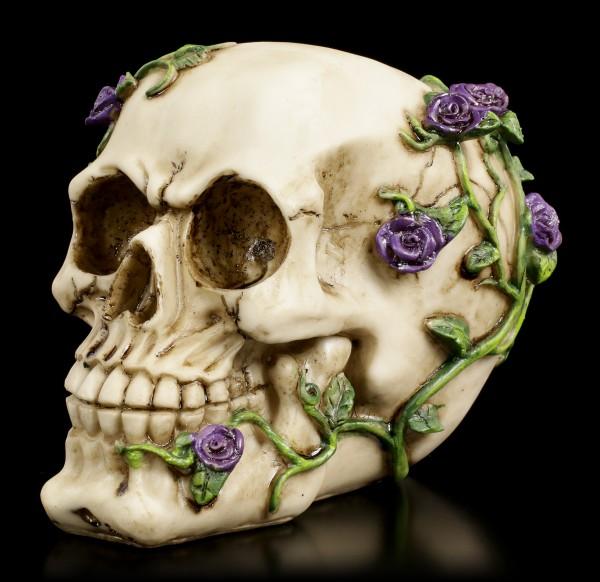 Skull - Rose from Beyond - purple