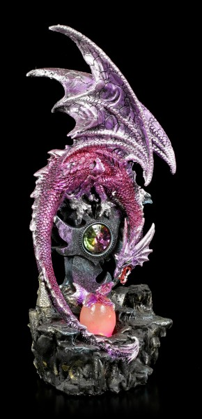 Dragon Figurine with LED - New Life