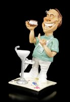 Funny Job Figurine - Dentist with Dentures
