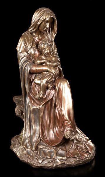 Große Madonna Figur - Maria mit Jesuskind