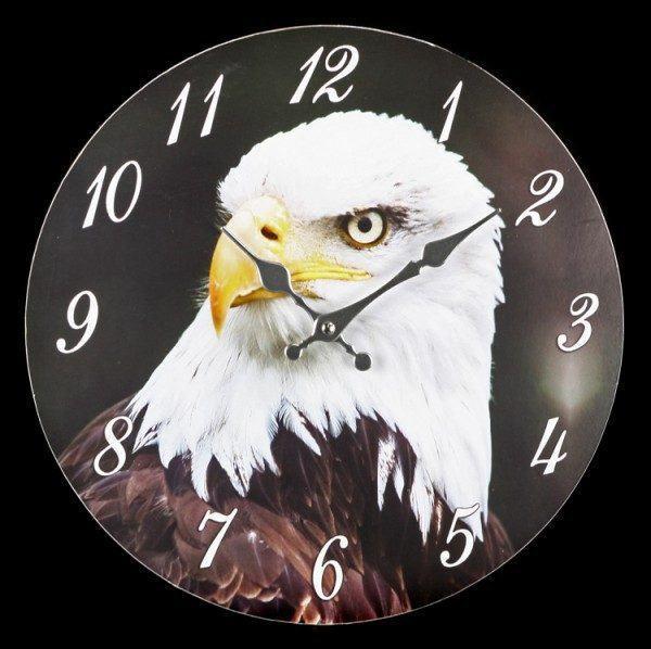 Clock - Bald Eagle