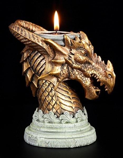 Alchemy The Vault - Drachen Kerzenhalter