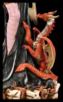 Fairy Figurine - Lumiel with Dragon