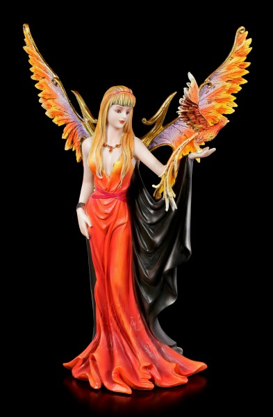 Phoenix Angel Figurine