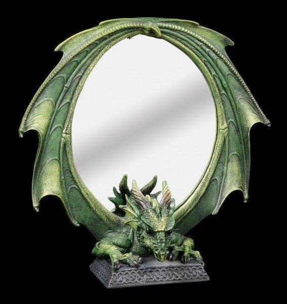 Drachenspiegel - grüner Drache