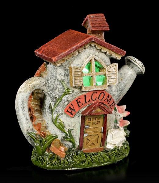 Fairy House with LED - Watering Can