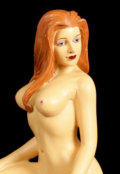 Erotic Figurine - Nacked Woman with Tattoos