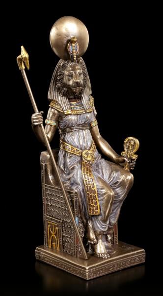 Sachmet Figur - Ägyptische Göttin in Löwengestalt