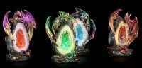 Drachen Figuren LED - Geode Keepers - 4er Set