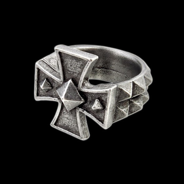 Alchemy Kreuz Ring - Cross of Iron