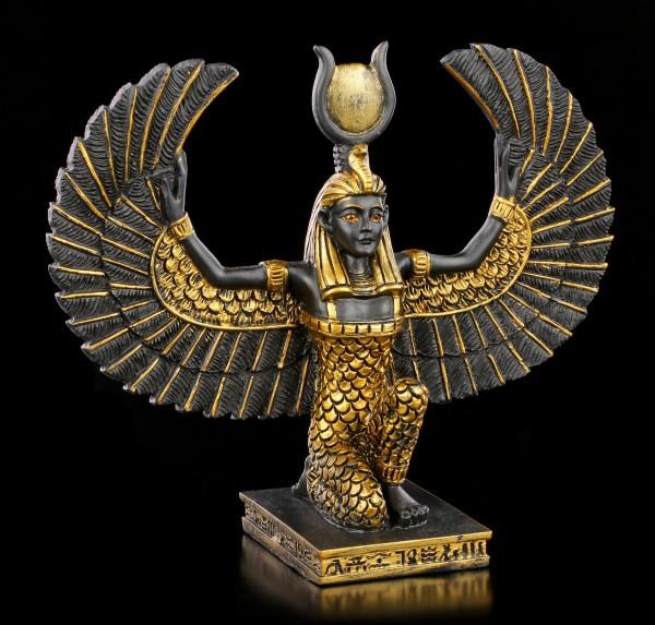 Ägyptische Figur - Isis mit ausgebreiteten Flügeln