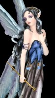 Fairy Figurine - Nessa with Wolves