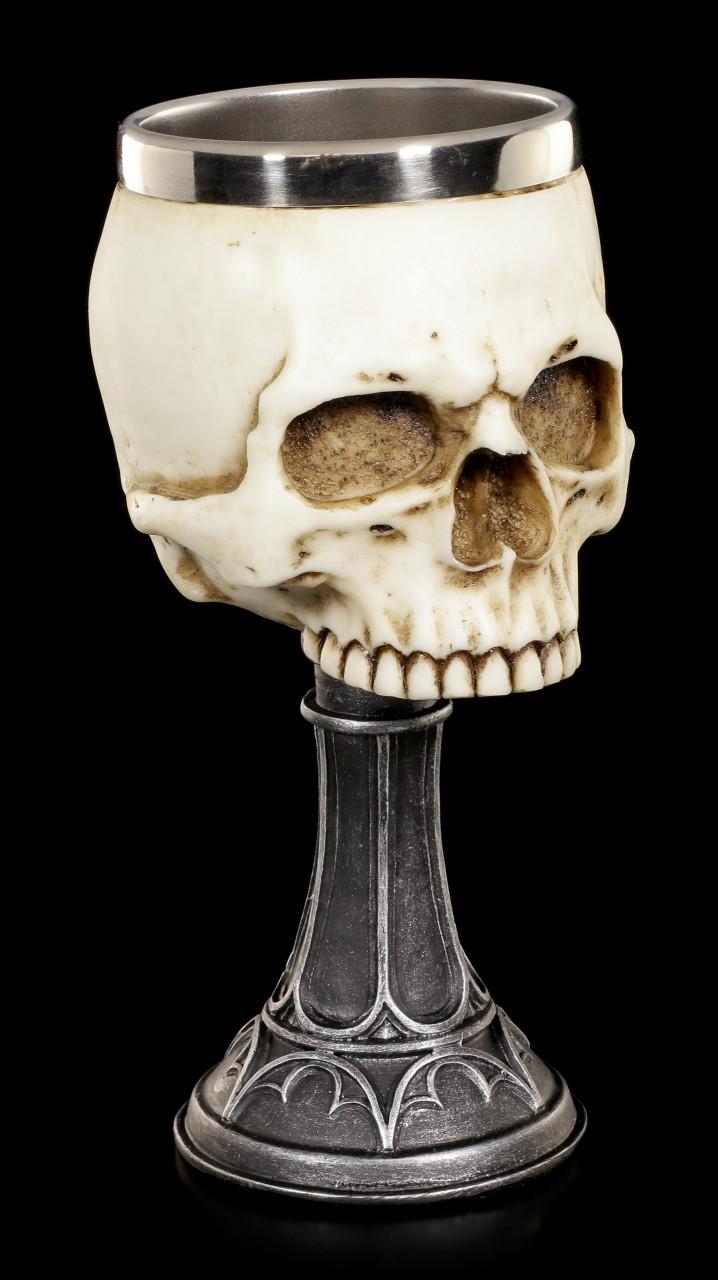Totenkopf Kelch - Skull Chalice von Anne Stokes