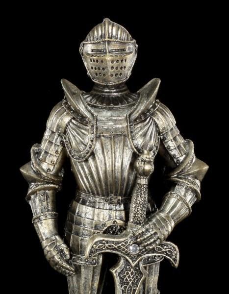 Ritter Figur - Schwert links tragend