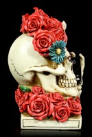 Skeleton Skull - Floral Head with Mobile