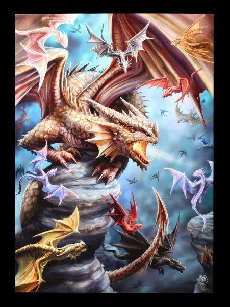 Large Canvas - Dragon Clan