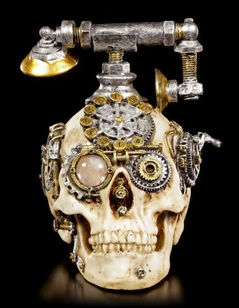 Steampunk Skull Telephone - Dead Ringer