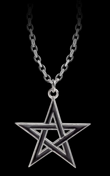 Alchemy Pentagram Necklace - Black Star