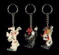 Schlüsselanhänger - Ritter - 7er Set