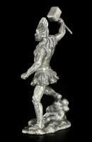 Pewter Thor Figurine