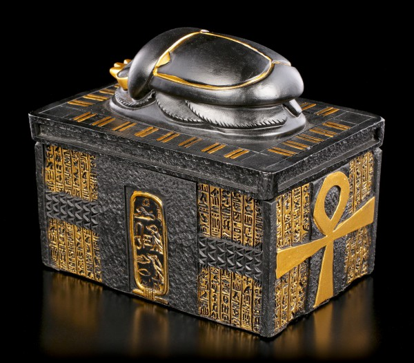 Egyptian Box with Scarab