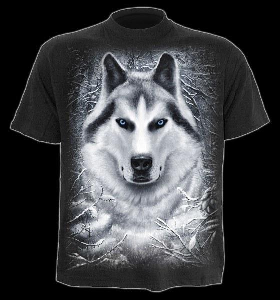 T-Shirt Kinder Fantasy - White Wolf