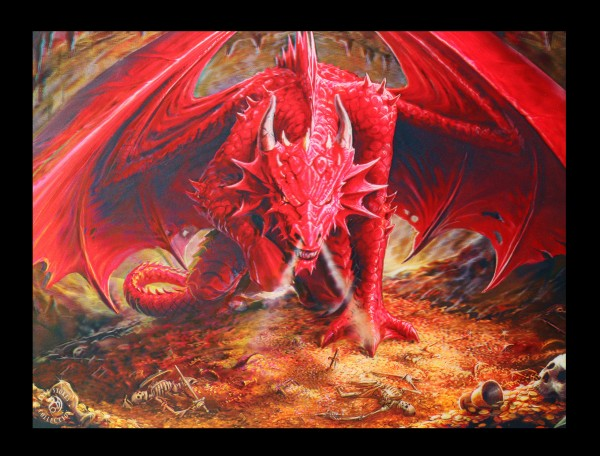 3D Picture - Dragons Lair