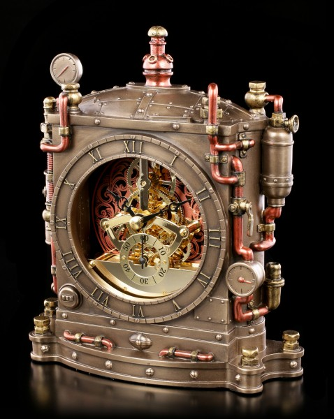 Steampunk Table Clock - Horologist