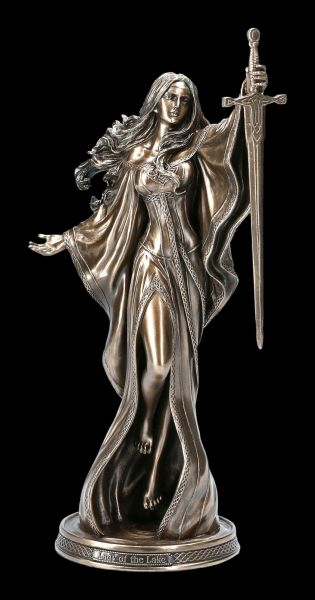 Nimue Figurine - Lady of the Lake - bronzed