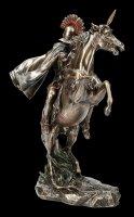 Alexander der Große Figur auf Pferd