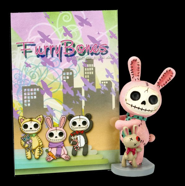 Furrybones Photo Frame - Pink Bun-Bun