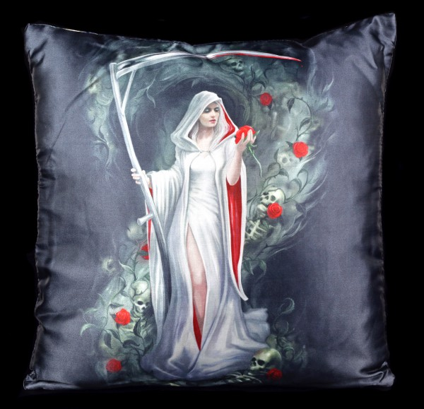 Kissen Weiblicher Reaper - Life Blood by Anne Stokes