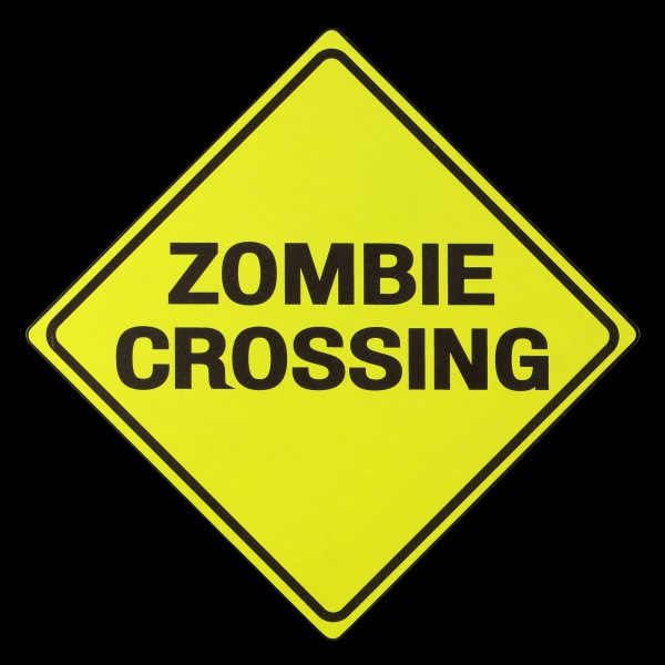 Metal Shield - Zombie Crossing