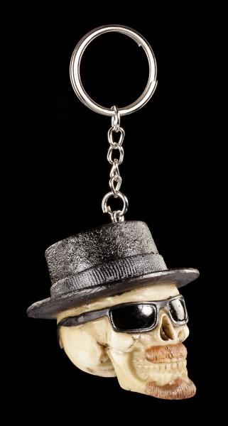 Totenkopf Schlüsselanhänger - Badass