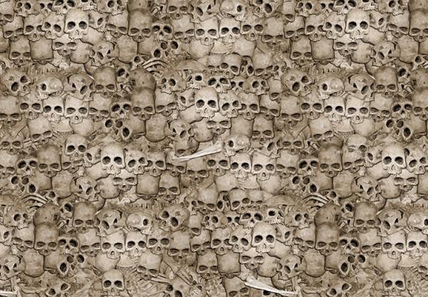Totenkopf Geschenkpapier - Cheap Bones