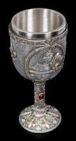 Knight Goblet - With Sword and Shield
