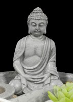 Zen Garten with Buddha Figurine - Garden of Tranquility