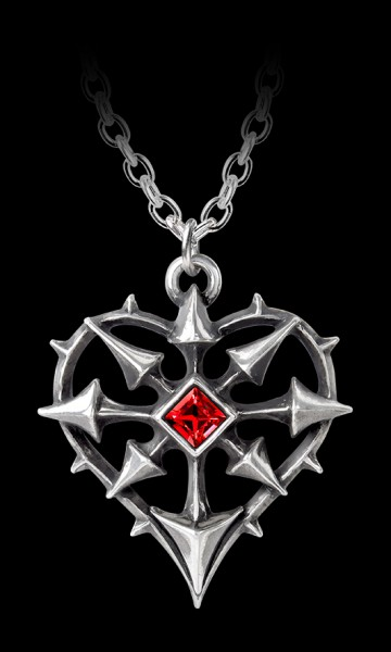 Alchemy Heart Necklace - Entropassio