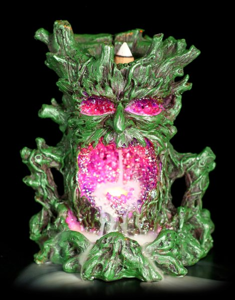 Greenman Backflow mit LED - Crystal Ent