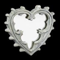 Alchemy Pocket Mirror - Gothic Heart