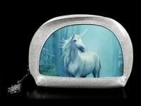 Kosmetik Tasche mit 3D Einhorn - Forest Unicorn