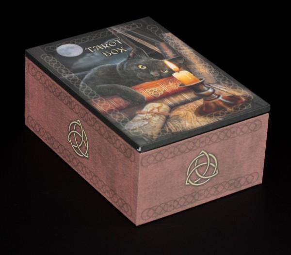 Tarot Box mit schwarzer Katze - The Witching Hour