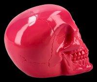 Totenkopf - glänzend pink