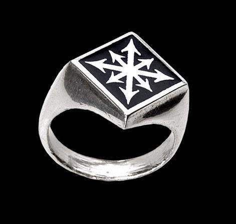 Alchemy Gothic Ring - Chaos Signet